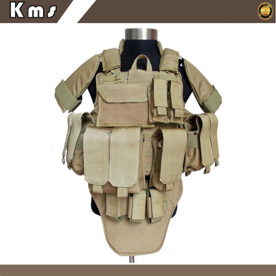 Military Tactical Combat Safety Bulletproof Vest