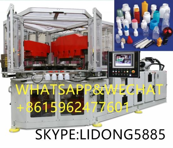 Europe PE/PP/HDPE/LDPE Plastic Bottles Injection Blow IBM Bottle Molding Moulding Machine