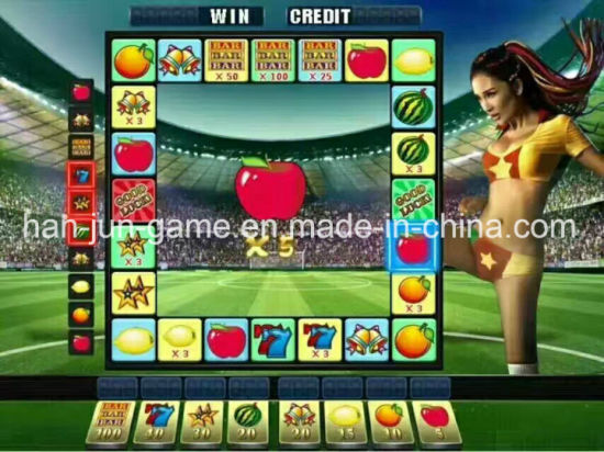Super Mario Apple LCD Small Slot Game Machine