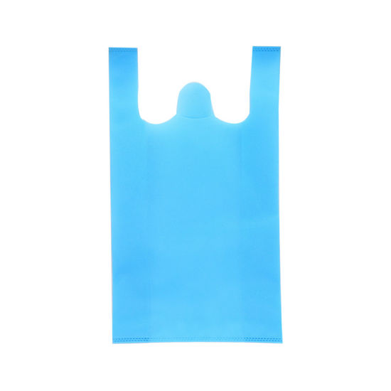Wholesale Eco Friendly Carry Shopping Non Woven T Shirt T-Shirt Bag for Supermarket