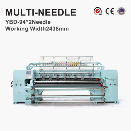 Professional Computerized Garments Quilting Embroidery Machine