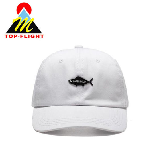 aa31e226c04 China Supplier Wholesale Cotton Embroidered Fabric Baseball Caps Custom