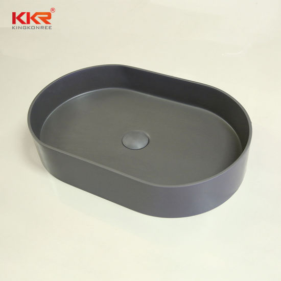 Building Construction Material Gel Coat Resin Cabinet Table Top Wash Basin Above Counter Kitchen Sink