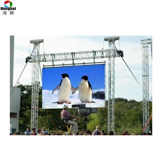 P3.91 P4.81 Outdoor Rental LED Display Screen Big Advertising Billboard