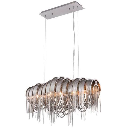 China Tassel Aluminum Chain Pendant Light Luxury Tassel Hanging ...