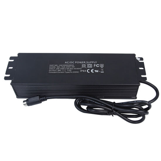 200W LED Waterproof Power Supply with Ce UL Certificated