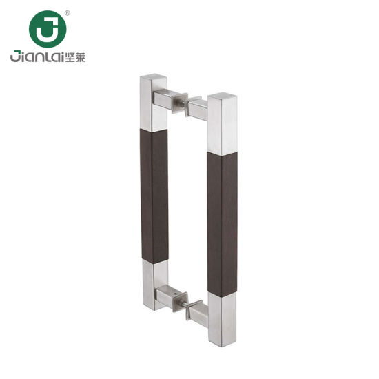 Ss 304 Commercial Sliding Glass Door Pull Handle in Wooden pictures & photos
