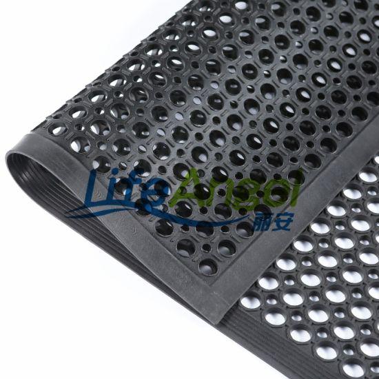 High Quality Cheap Anti-Fatigue Rubber Kitchen Mat, Rubber Hole Mat