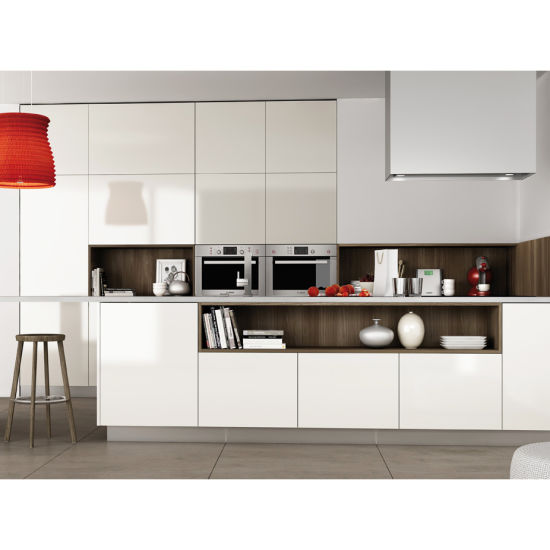 Wholesale Free Standing Waterproof Movable Vinyl Wrap Discontinued White  Modular Kitchen Cabinet