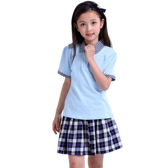 China Wholesale Customized Fashion Stylish Primary Girl′s