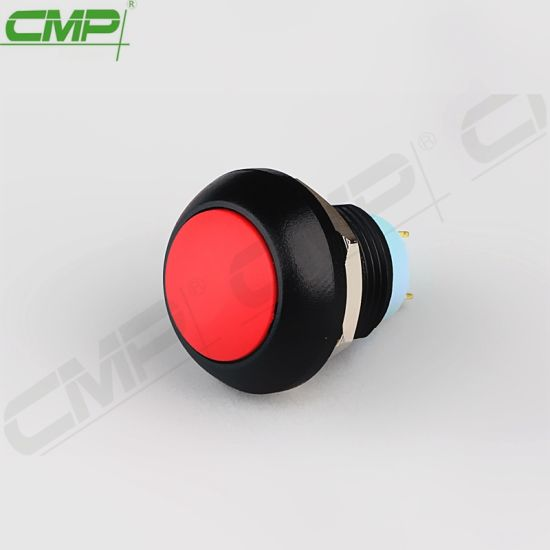 installation-Ø 12mm normally open 1A//250V Push Button Blue ON 10x Pushbutton OFF -