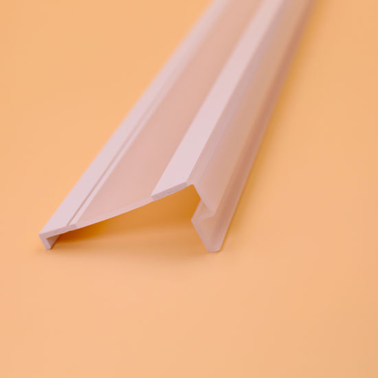 Extrusion PVC Profile LED Cover Lamp Cover