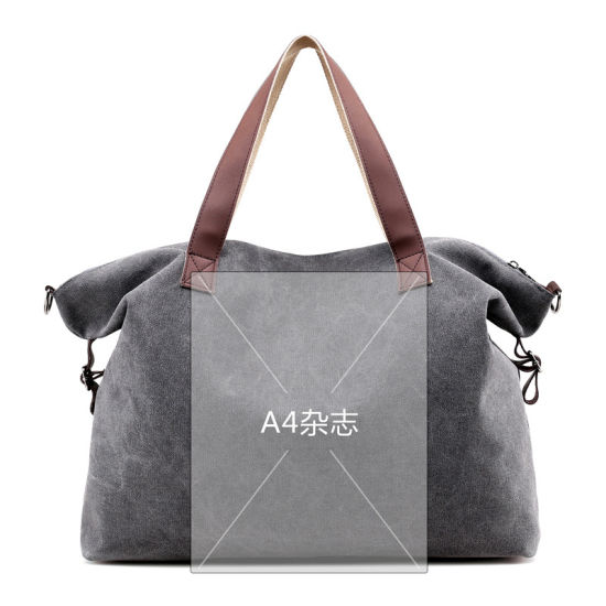 Ping Bag Handbags Eco Friendly Bags Portable Canvas Per Reusable