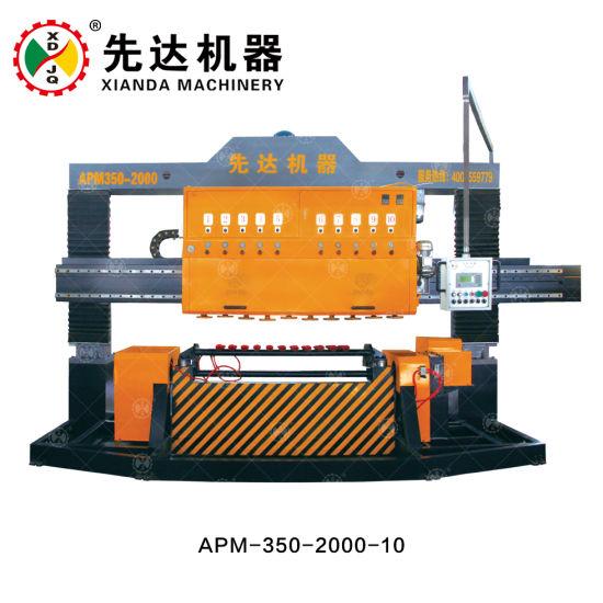 Xianda Granite Polishing Machine, Arc Slab Polishing Machine