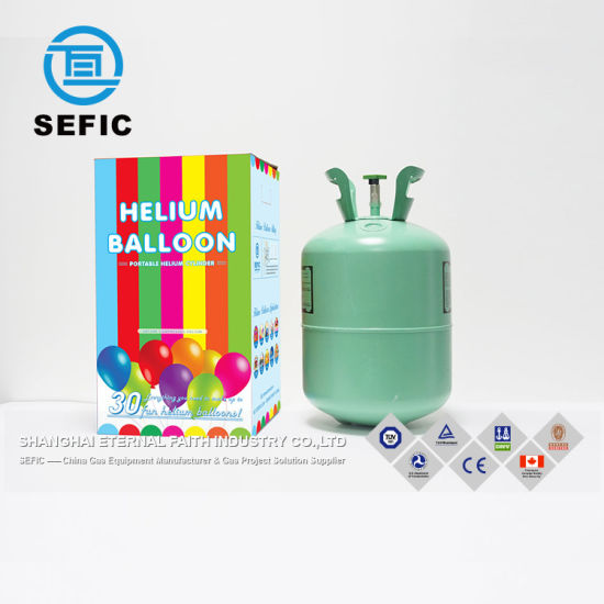 2018 Disposable Balloon Helium Gas Cylinder Helium Gas