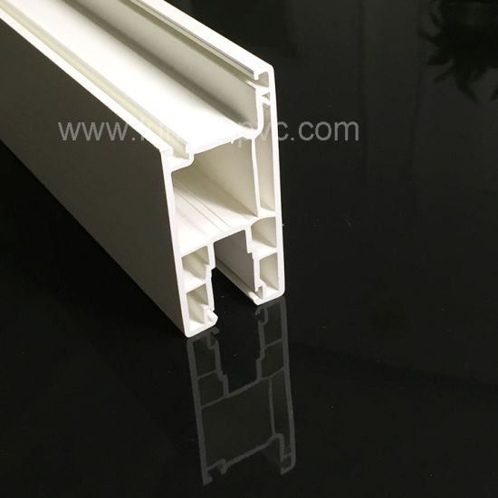 Plastic Fly Screen Frame UPVC Profiles PVC Window Frame