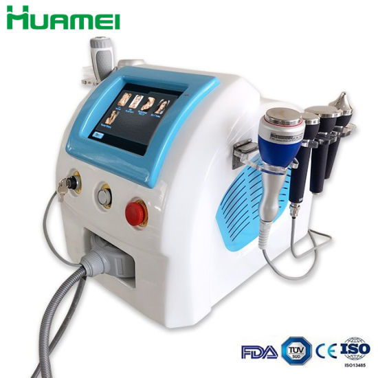 Best Combination! Cavitation+RF+Vacuum/ RF Cavitation Vacuum Slimming Machine Hm-C600 From Weifang Huamei pictures & photos