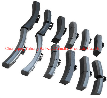 Genuine Nonmetallic Composite Material Brake Shoes to Replace Cast Iron pictures & photos