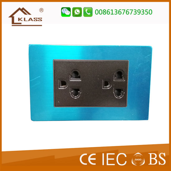 Thailand Tisi Wall Switch Socket Metal Clad 220V