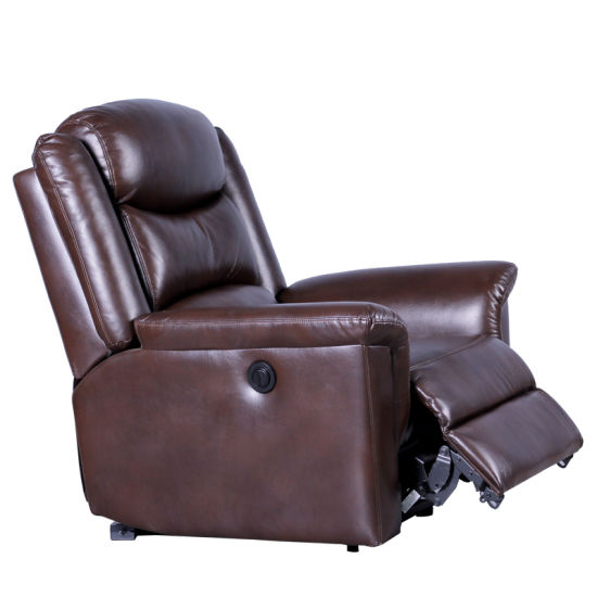 China Electric Functional One Seat Air Leather Living Room Sofa