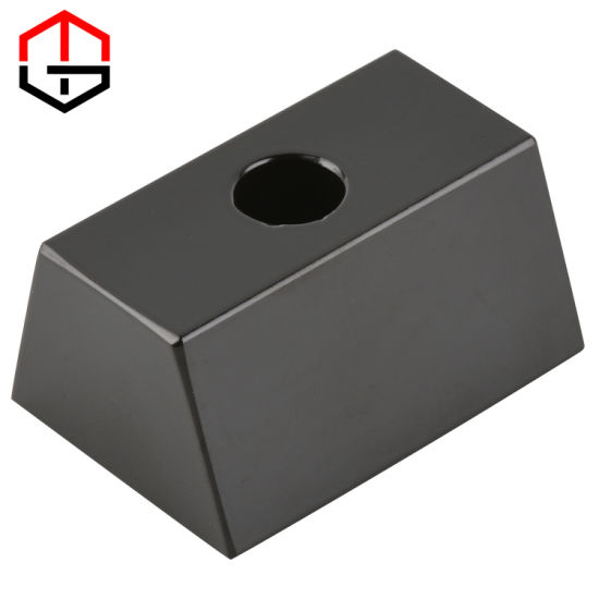 NdFeB Stong Black Epoxy Permanent Neodymium Magnet with Countersunk Hole for Motor