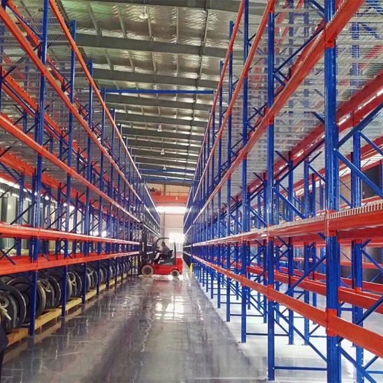 Heavy Duty Steel Selective Pallet Racking for Industrial Warehouse Storage Solutions
