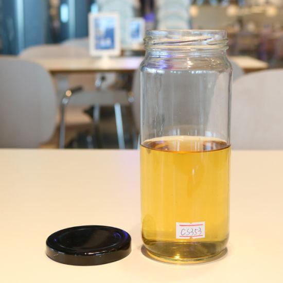 Glass Material Water Drinking Bottles Drinkware 500ml Glasses Milk Tea Bottle
