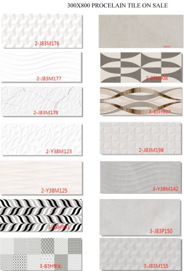 300X800 Ceramic Wall and Floor Tile on Sale