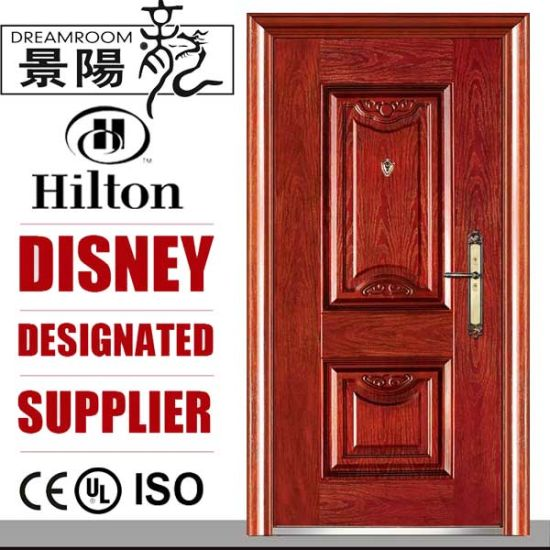 Soncap ISO Quality Steel Entrance Door pictures & photos