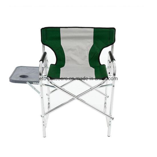 Aluminum Folding Director Chair Leisure