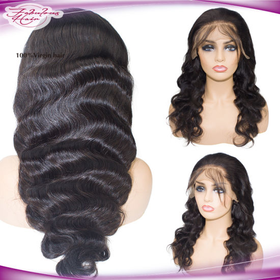 Brazilian Human Hair Wig Body Wave Lace Front Wig pictures & photos
