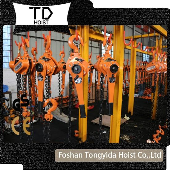 1ton 2ton 1.5meters Building Construction Lever Blcok Manual Chain Hoist Chain Block with G80 Load Chain with Ce Marke