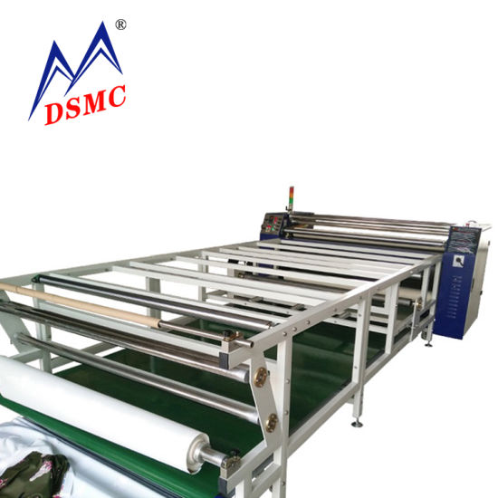 Wholesale Dye Sublimation Roller Heat Press Machine Fabric Rotary Textile Roll to Roll Heat Transfer Printing Machine