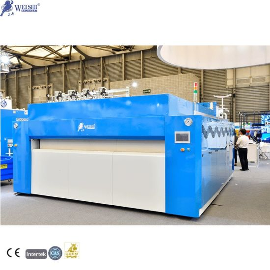Energy Efficiency New Design High Speed Cloth Press Laundry Drying and Ironing Machine