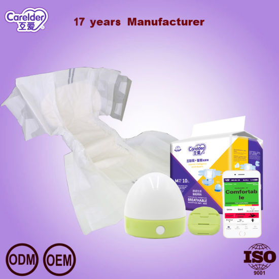 Medical Care Disposable Smart Adult Diaper for Nursing Home and Hospital