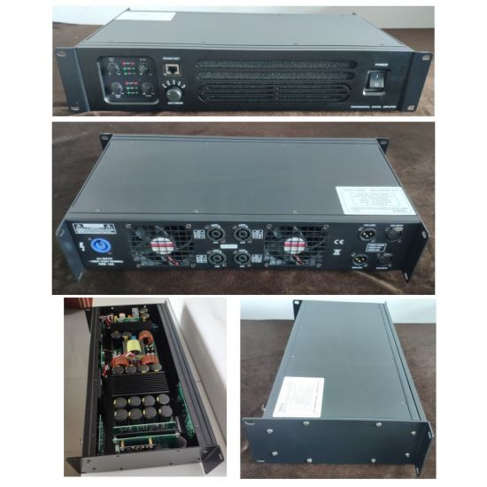 Class Td 4 Channel DSP AMP 1300W Stereo Audio Amplifier