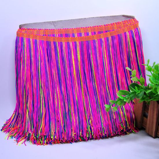 FRINGE TASSLE A FULL 10 METRES 4 colours for cushions//curtains//clothes etc.