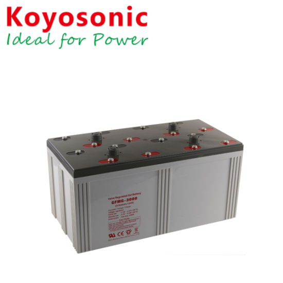 High Quality Solar Cell Battery Solar System 3kw with Battery 2V 1500ah Battery