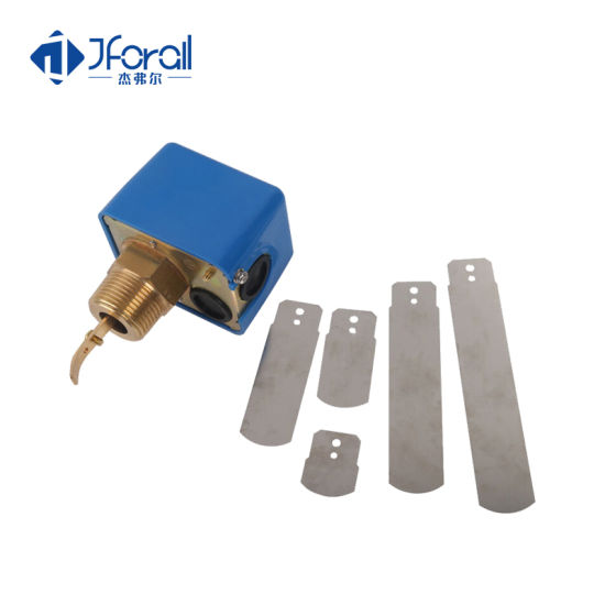 Jforall IP65 Liquid Level Thermal Water Pump Paddle Water Flow Indicator Switch