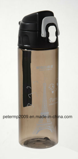 600ml Simple and Stylish Plastic Travel Water Bottle pictures & photos
