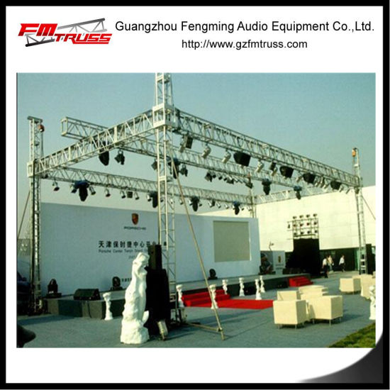 China Small Stage Lighting Truss System Tower
