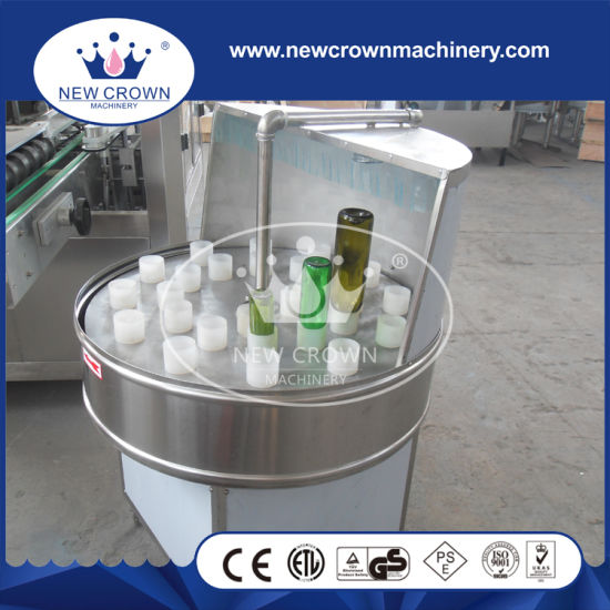 Semi-Auto New Pet Bottle or Glass Bottle Washing Machine pictures & photos