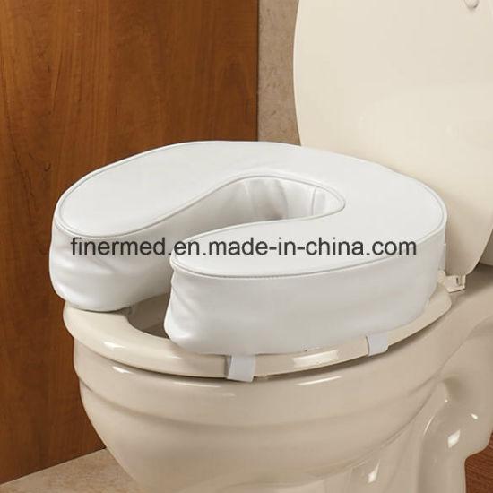 Padded Toilet Seat Cushion.Foam Padded Raised Toilet Seat Cushion