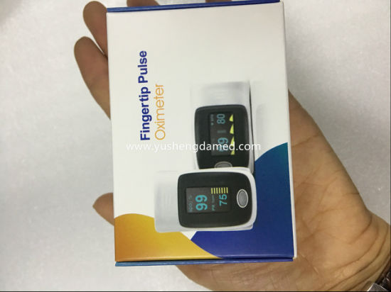 Medical Equipment SpO2 Monitor Fingertip Pulse Blood Oximeter pictures & photos