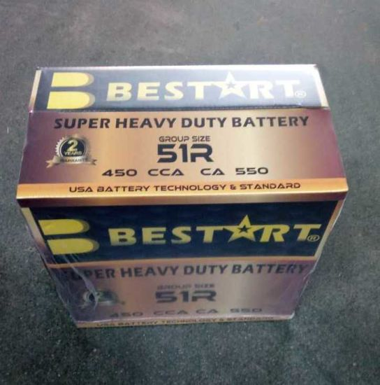 Bestart Ns60L-Mf Sealed Maintenance Free Car Battery pictures & photos