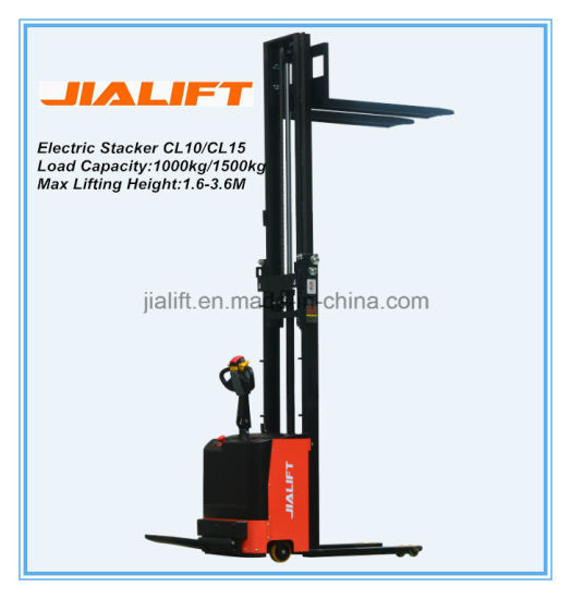 Electric Stacker CL1016 pictures & photos