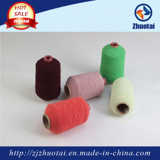 907575 Rubber Double Covered Polyester Yarn for Socks pictures & photos