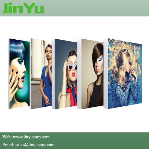Light Weight Frameless Fabric LED Slim Light Box pictures & photos