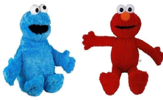 Cute Cookie Monster Plush Toy