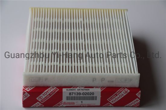 Car Auto Accessories Cabin Air Filter 87139-52020 87139-06070 87139-02020